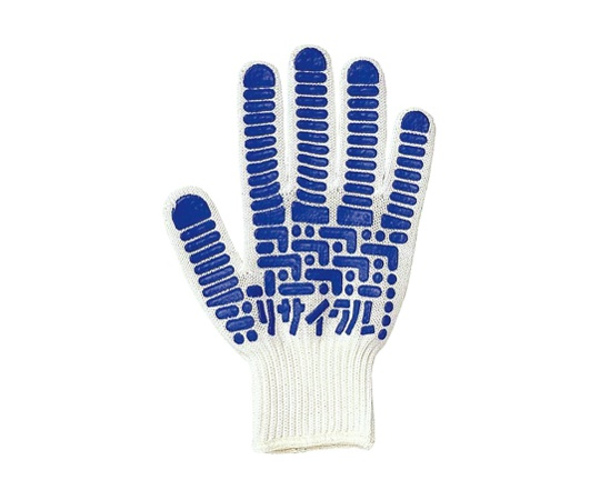 ゴムすべり止めリサイクル手袋 M EC13-M
