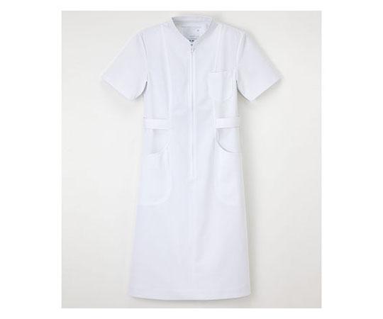 [取扱停止]看護衣半袖 ホワイト LL HS967