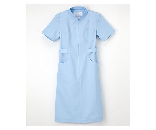 [取扱停止]看護衣半袖 サックス S HS967
