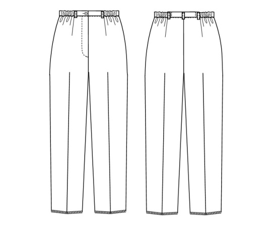 女子パンツ ホワイト EL FY4573