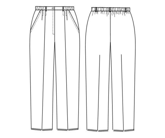 パンツ MI4613 ホワイト S
