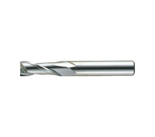 超硬エンドミル(ミドル) 2枚刃 ノンコート
