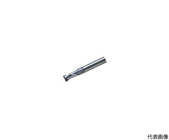 超硬エンドミル(ミドル) 2枚刃 ノンコート C2MSDシリーズ