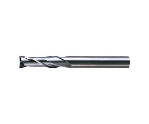 超硬エンドミル(セミロング) 2枚刃 ノンコート