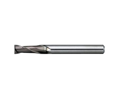エンドミル 無限コーティング 2枚刃 MSE230 φ0.5×刃長1.25mm MSE2300.5X1.25