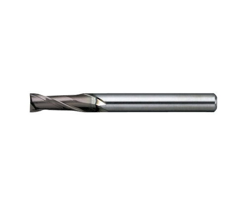 エンドミル 無限コーティング 2枚刃 MSE230 φ1.7×刃長4.5mm MSE2301.7X4.5