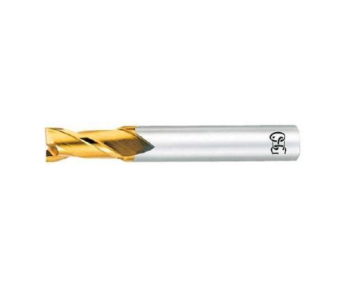 ハイスエンドミル TIN 2刃ショート φ1.0×刃長:2×全長:45