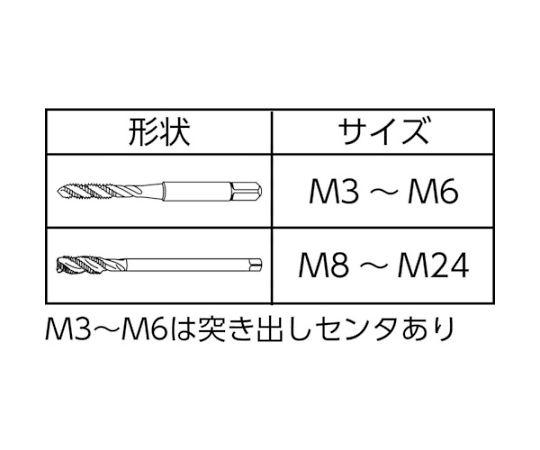 ニューロングスパイラルタップ M3 LS-SP100-M3
