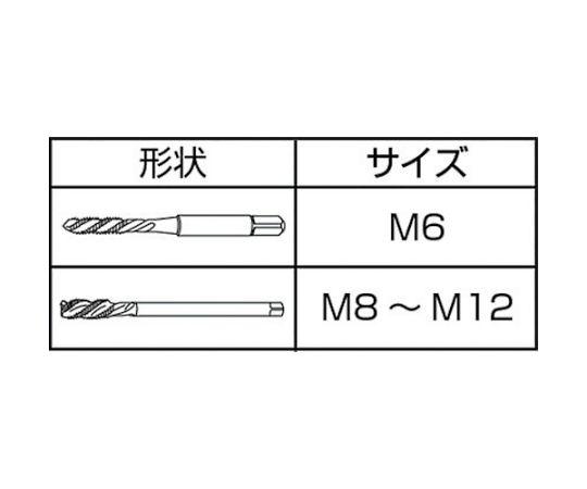 高剛性Xシリーズタップ M6 SUXSL-M6X1