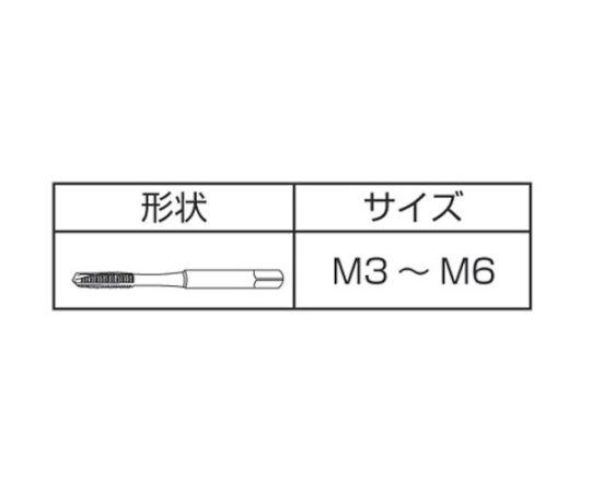 HSSナットタップ NT2-M4