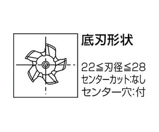ハイスエンドミル 88628 TFGS-28