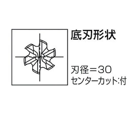 ハイスエンドミル 71390 TIN-LS-RESF-40