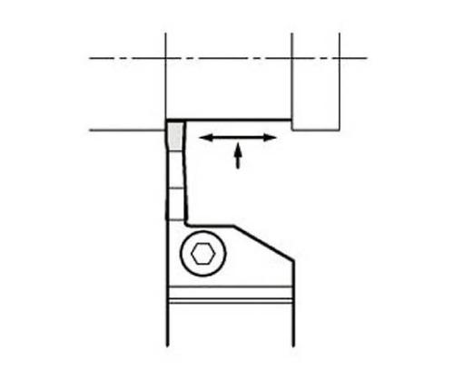 京セラ 溝入れ用ホルダ 型番:KGDR2020K2T10