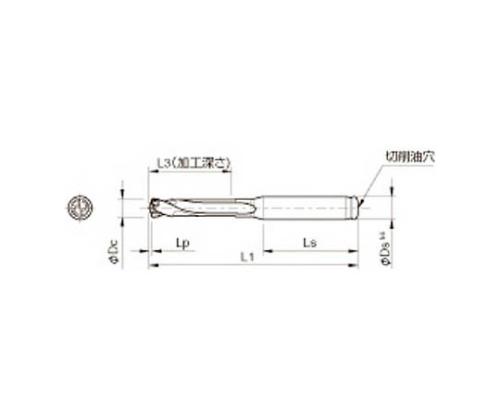 京セラ ドリル用ホルダ 型番:SS14DRC120M3