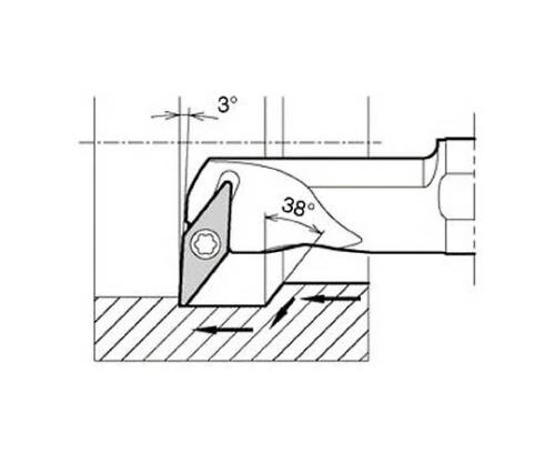 京セラ 内径加工用ホルダ 型番:S32SSVUBR1640A