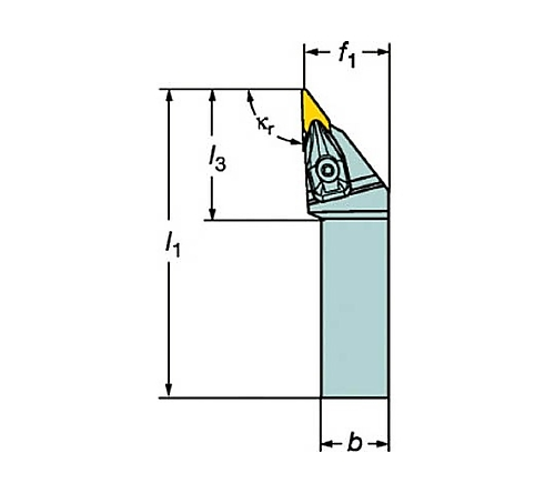 サンドビック コロターンRC ネガチップ用シャンクバイト 型番:DVJNL3225P16