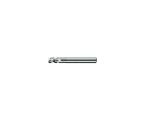 ユニオンツール 超硬エンドミル スクエア φ4×有効長12×刃長8 型番:AZS3040120
