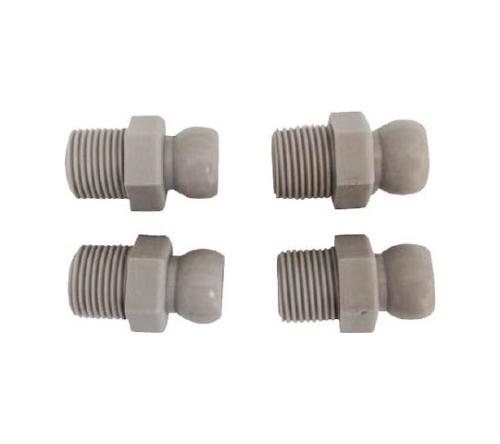 クーラントシステム3/8 コネクター PT3/8 4個入 灰色