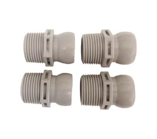 クーラントシステム3/4 コネクター PT3/4 4個入 灰色