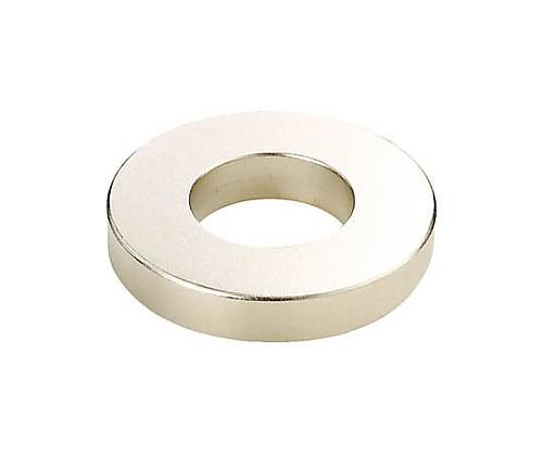 ネオジム磁石 外径12mmX穴径7mmX厚6mm 5個入