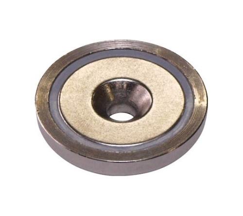 ネオジ磁石プレートキャッチ(皿穴タイプ)