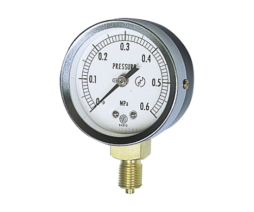 JIS汎用形圧力計(A枠立型・φ60・ストレートねじ)