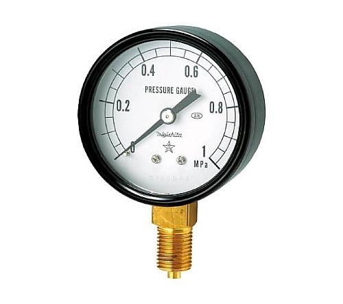 一般耐振形圧力計(A形立型・φ60)