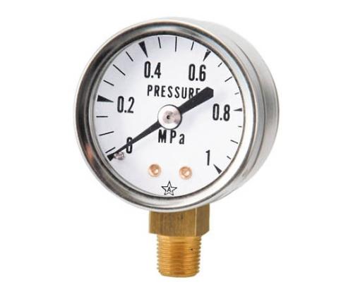 小型圧力計(A形立型・φ40)