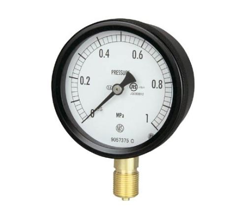 密閉形圧力計(A枠立型・φ75)