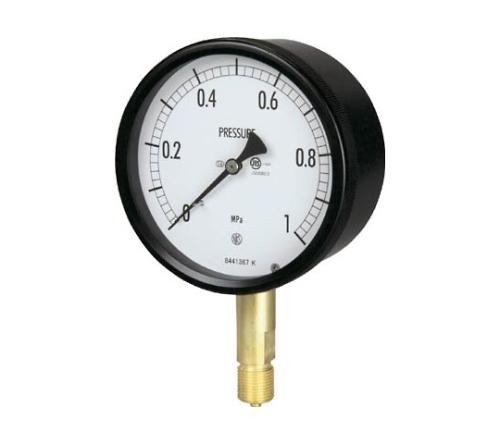 密閉形圧力計(A枠立型・φ100)