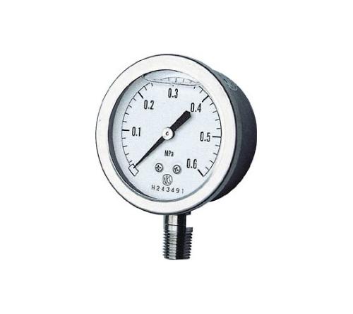 グリセリン入圧力計(A枠立型・φ60)