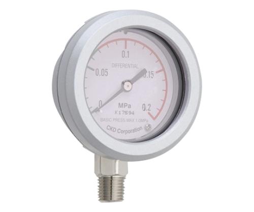差圧計 差圧測定範囲(MPa):0~0.2 接続口径:Rc1/4