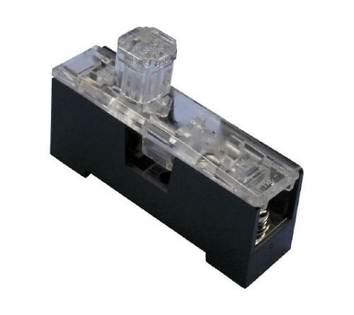 横型ヒューズホルダ(FHCシリーズ ランプ点灯形溶断表示)