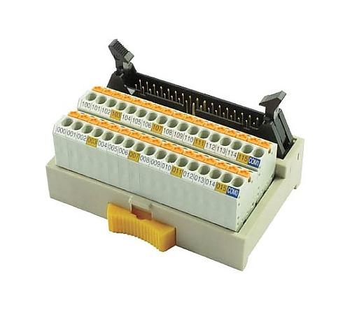 スプリングロック式コネクタ端子台