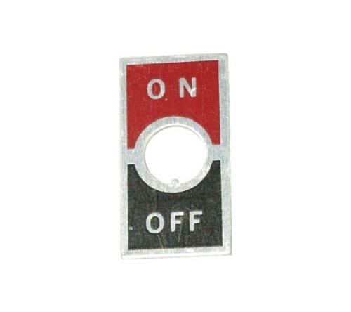 トグルスイッチ用ON-OFF文字板