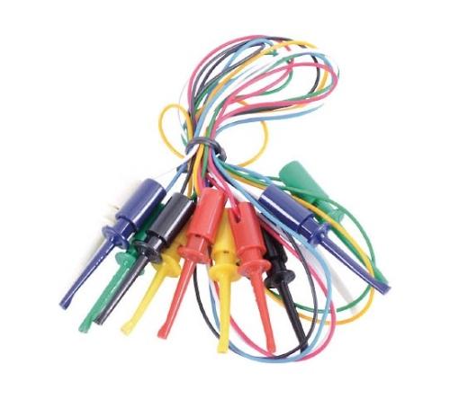 電機 ICテストリード 50cm ICクリップS両端付