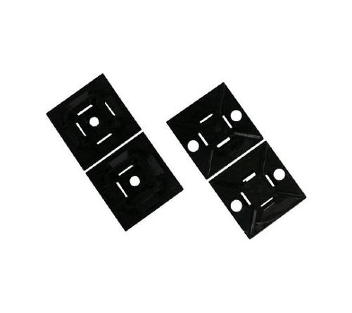 マウントベース ゴム系粘着テープ付き 白 ABM1MAM