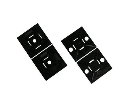 マウントベース ゴム系粘着テープ付き 白 ABM100AC