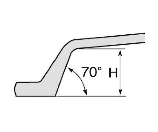 シャーボルト用めがねレンチ 六角対辺寸法:27 KPH27