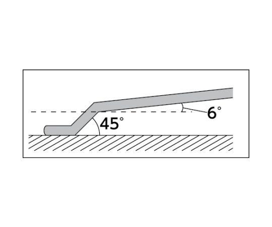 45°X6°めがねレンチ12×14mm NM5-1214