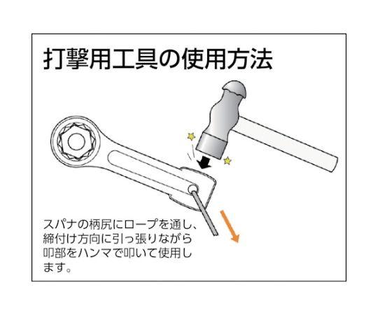 打撃めがねレンチ70mm DR0070