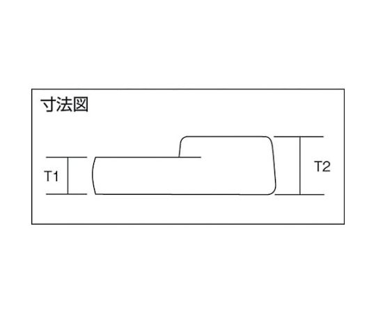 クローフートレンチ9.5□×16mm VC3016