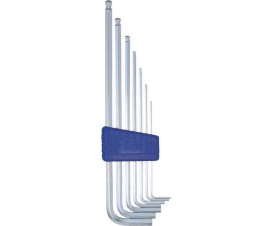 六角棒スパナ テーパーヘッド エキストラロング セット TLS-7S