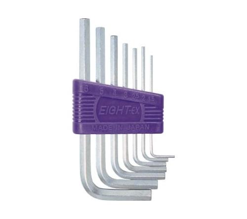 六角棒スパナ 標準寸法 セット RS7
