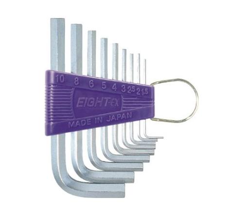 六角棒スパナ 標準寸法 セット RS9