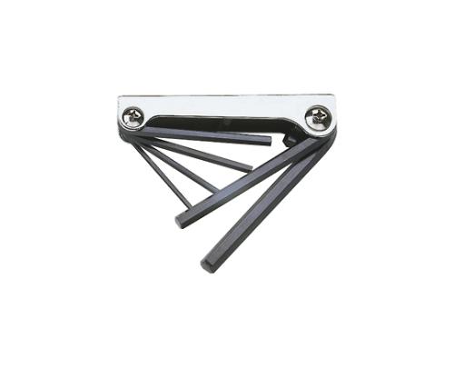 ナイフ式六角棒レンチセット 6本組 GN6310