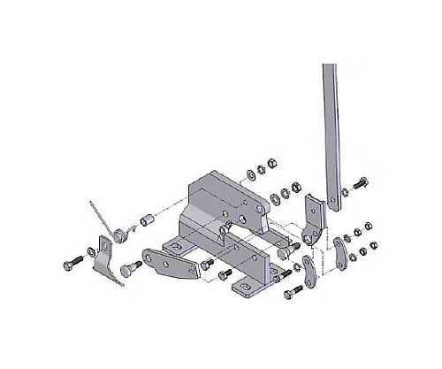P-1用六角ボルトNO.3