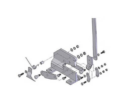 P-1用六角ボルトNO.3 P1003