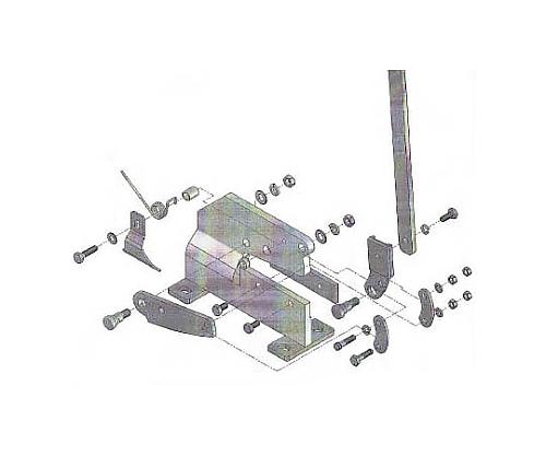 P-2用六角ボルトNO.15 P2015