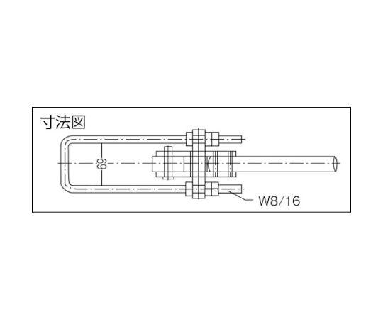 引きクランプ No.FA500 KC-FA500
